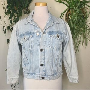 ASOS DENIM Light Wash Jean Jacket